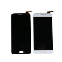 envio meizu al por mayor-L681H pantalla LCD para Meizu M3 Note L681H pantalla LCD pantalla táctil digitalizador panel Asamblea negro blanco envío gratis