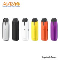 Wholesale eco pods for sale - Group buy Joyetech TEROS Kit All in One Pod System Kit ml V mah Power by ECO with Color Changeable Fishes Air driven Pod Kit Original