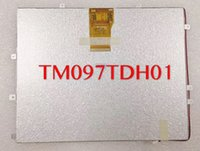 Wholesale full hd tablets for sale - Group buy New original inch tablet lcd screen TM097TDH01 PIN HD TFT LCD Display Screen
