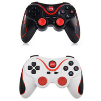 Wholesale wireless bluetooth gamepad pc resale online - T3 Bluetooth Gamepad Joystick Wireless Controllers Joypad Gaming Controller Remote Control For Android Cellphone PC TV BOX