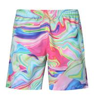 Wholesale swimwear men for sale - New Men Loose Beach Shorts Summer Dry Quick Short Pants Elastic Waist Swimwear D Printed Patterns