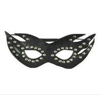 игра лицом для взрослых секс оптовых-Кудрявый женский секс бондаж кожа прикрыть с завязанными глазами маски для лица взрослый секс игры костюм партии Взрослые игры