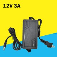 Wholesale charger 12v 3a resale online - Brand new V A power supply V V Hz AC DC adaptor charger IC solution V3A power adapter desktop monitoring LCD power supply