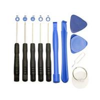 herramienta kit de reparación de teléfono tornillo al por mayor-11 en 1 Juego de herramientas de reparación de teléfonos móviles Kits de herramientas para destornilladores, libre de DHL