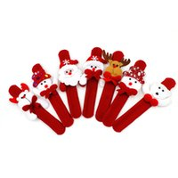 Wholesale cloth stuffed dogs for sale - Group buy Moose Christmas Decorations Christmas Patting Circle Christmas Children Gift Santa Claus Snowman Deer New Year Holiday Decorations Toys