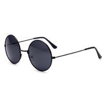мужчины круглые старинные очки оптовых-Motorcycle Glasses Retro Round Sunglasses Vintage UV400 Steampunk Sunglasses Black Colour for Men Woman