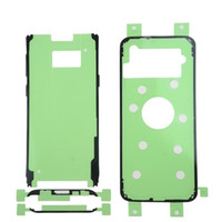 1 Set Rear Back Glass Cover Door & LCD Front Glass Adhesive Sticker For Samsung Galaxy S6 S7 Edge S8 S9 Plus Note 8 Tape Sets