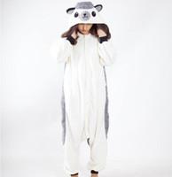 Wholesale conjoined cartoons resale online - Cartoon Hedgehog Conjoined Pajamas Unisex Cosplay Halloween Costume Cute Leisure Jumpsuits Warm Lovers Home Sleepwear CCA10283