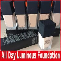 Wholesale oz mix - New Makeup All Day Luminous Weightless Foundation Cosmetics 1FI. Oz. 30mL 6 Colors Makeup Base DHL Free