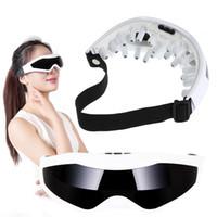 massager da testa venda por atacado-Elétrica Massager do olho óculos USB Vibração Acupressão Aliviar Fadiga Stress Relief Relaxar Testa massagem Ferramentas de Cuidados Com Os Olhos