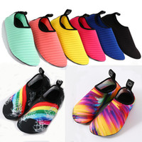 Wholesale dive sticker - Beach Dive Ski Treadmill Shoes Footguards Stickers Swimming Rafting Soft Shoes Non-Slip Yoga Fitness Shoes Support FBA Drop Shipping G795F
