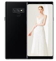 64-битный телефон оптовых-ERQIYU Goophone note9 Note 9 Edge 6,2 дюйма Android 8.0 смартфоны 4G RAM 128G ROM показаны 64-битные 4G LTE сотовые телефоны