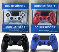Wholesale PS4 Controller Dual Vibration Effect For Playstation Connect USB Cable Support Long Running And Comfortable Buttons With Retail BOX DHL