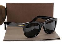 Wholesale semi rimless frames for women resale online - 211 FT James Bond Sunglasses Men Brand Designer Sun Glasses Women Super Star Celebrity Driving Sunglasses Tom for Men Eyeglasses