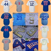 Wholesale Army Kid - Chicago Jersey 17 Bryant 44 Rizzo 9 Javier Baez 12 Kyle Schwarber 3 David Ross 27 Addison Russell Ben Zobrist Yu Darvish Men Women Youth Kid