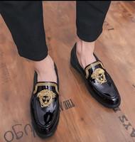 spitze schuhe für männer umsatz großhandel-2018 heiße Verkäufe italienisches Qualitäts-Leder-Mann-Kleid-Schuh-Partei-Spitzschuh-elegante Hochzeits-Mönch-Bügel-Mann-Kleid-Oxford-Schuhe U77