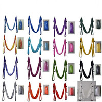 Wholesale yoga swing for sale - Colorful Anti Gravity Hammocks Air Flying Yoga Hammock High Density Nylon Taffeta Fitness Swing Top Quality sh BB