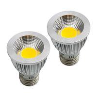 koç 12 v spot ışıkları toptan satış-COB Led ampuller 9 W 12 W 15 W COB GU10 GU5.3 E27 E14 MR16 Dim LED Spor ışık DC12V AC 110 V 220 V 240 V ampuller