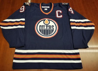 Wholesale Autumn Color Names - Vintage Edmonton Oilers #94 Ryan Smyth Hockey Jersey Embroidery Stitched Customize any number and name Jerseys.