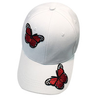 шляпы бабочки оптовых-New Baseball Cap Women Men Gravity Falls Couple tactical Butterfly Baseball Cap Unisex Snapback Hip Hop Flat Hat casquette homme