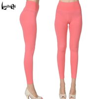 Wholesale Warm Leggings For Girls - Hot Sell New Quality Women's Pants Cotton Knitted Trousers Female Autumn Cotton leggings Ladies Warm Standard Pants For Girls