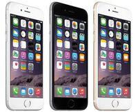 iphone 64gb kilidi toptan satış-100% Orijinal 4.7 inç 5.5 inç iPhone 6 iphone6 Artı IOS 1.4 GHz telefon 8.0 MP Kamera 4G LTE Ile Parmak Izi Unlocked Yenilenmiş Cep Telefonları