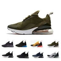 Wholesale training shoes for women - 2018 New arrival mens Running Shoes for men women 270 mans training sneakers walking sports fashion athletic designer outdoor shoes 36-45