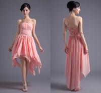 Langes kleid koralle