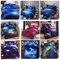 Wholesale bedding set 3d print online - 10 Styles D Nebula Bedding Sets Starry Sky Quilt Cover Classical Luxury Sheet Home Textile Bedding sets CCA10195