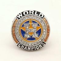 Wholesale League Championship Ring - Free Shipping 2017 Houston Astros League Baseball custom sports Replica Men world Championship ring