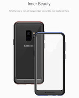 Wholesale case note mercury for sale – best MERCURY GOOSPERY Transparent Clear Bumper Case Flexible Shockproof Cover for Iphone X XS MAX XR Samsung S9 S8 plus Note A8 LG G7 RetailBox