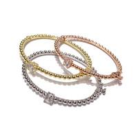 ingrosso braccialetti di modo migliori-2018 New Fashion Oro Pulsera Gioielli Bracciale Bangles Braccialetto di fascino Braccialetti di perline per le donne Best Friend Hot