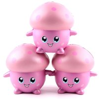 Wholesale mushroom sports for sale - Simulation Originality Cartoon Mushroom Toy Model Squishies Slow Rising Decompression Venting Toys PU Squishy Funny Soft Doll sq W