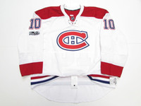 06d4e39fd Cheap custom Lafleur 10 MONTREAL CANADIENS AWAY 100th ANNIVERSARY EDGE 2.0 JERSEY  stitch add any number any name Mens Hockey Jersey XS-5XL