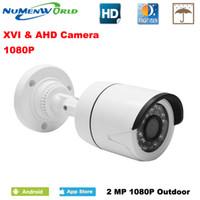 rote cmos linse großhandel-CCTV XVI / AHD 2.0MP 1080P HD Überwachungskamera mit IR-CUT 24 IR LEDs Nachtsicht Analoge Kamera für den Heimgebrauch indoor / outdoor