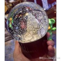 ingrosso decorazioni di palle di natale-Sfera di cristallo Palla di vetro Decorazione per la casa Decorazione di Natale Palla di neve Bambini Regali XMAS HH7-961