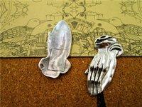 Wholesale namaste pendant resale online - 24pcs Namaste charms Antique silver Praying Hands Together charm pendants Hand Pendant Zen Gesture DIY Supplies x19mm