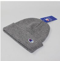 Wholesale beaches couples resorts - new arrive: 12 color embroidered small cap, high-quality hip hop male and female couple wool cap, tide brand cham knitted warm hat