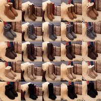 Wholesale borders australia online - Classic WGG Boots Shoes Christmas Wool sheepskin Australia Designer For Men Women Luxury Brand Sexy Shoes With box