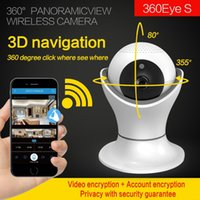 Wholesale mobile internet security - 3D navigation WIFI IP Camera Internet network HD video Wireless Home Security Surveillance CCTV Baby Monitorstorage in mobile