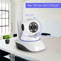 Wholesale wireless ir webcam - 720P HD WiFi IP camera Wireless Network camera Webcam Home Security Surveillance PnP P2P APP Pan Tilt IR Cut