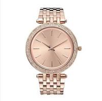 senhoras tops completo venda por atacado-38mm ultra fino Senhoras design Simples relógio de diamantes cheios de mulheres designer de luxo Top marca famosa rosa pulseira de ouro relógios de aço inoxidável 11