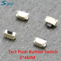 Lights & Lighting 1000pcs 6*6*5mm 2 Pin Push Button Switch Microswitch Tact Switch Horizontal Type Cheapest Price From Our Site