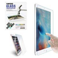 protector de pantalla de gafas templadas paquete de venta al por menor al por mayor-Para iPad Tempered Glass Protector de pantalla para Ipad 2 3 4 Ipad Mini Film Tablet Protector de pantalla 9H 0.4MM vidrio templado con paquete al por menor