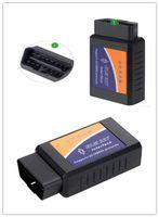 cables para elm327 obdii al por mayor-ELM327 WIFI OBD2 escáner 25K80 Chip Elm 327 inalámbrico Suppost Todo el protocolo OBDII para IPhone Ipad iPod último hardware V2.1
