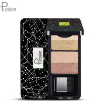 Wholesale matte eye shadow kits for sale - Group buy Pudaier Makeup Eyeshadow Palette Color Nude Pigment Waterproof Shimmer Glitter Eye Shadow with Brush Kits