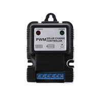 Wholesale solar panel charge controller regulator for sale - 12V A Auto Solar Panel Charge Controller Battery Charger Regulator PWM New hot