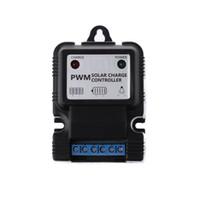 regulador solar del cargador 12v al por mayor-Regulador de carga del regulador de carga del panel solar auto de 12V 3A PWM - nuevo caliente