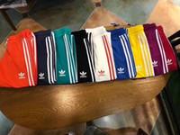 harem spor pantolon erkek toptan satış-2018 Marka Erkekler kadınlar 9 renkler Joggers Rahat Harem Sweatpants Spor Pantolon Erkekler Spor Dipleri Parça Eğitim Koşu Pantolon