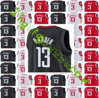 b3ac2937e 2018 New Hommes   13 James Harden 3 Chris Paul Basketball Maillot Rouge Blanc  Jersey Rockets couture Jerseys Livraison Gratuite